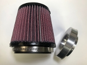 Billet Aluminum Big Air Filter Kit K&N HONDA TRX450R TRX400EX